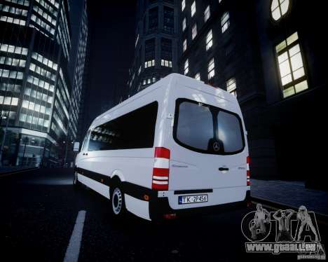 Mercedes-Benz Sprinter Long für GTA 4 Räder