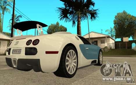Spoiler für das Bugatti-Veyron-Finale für GTA San Andreas her Screenshot