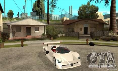 Alfa Romeo Tipo 33 GTI pour GTA San Andreas vue arrière