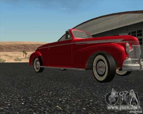 Chevrolet Special DeLuxe 1941 pour GTA San Andreas vue de côté