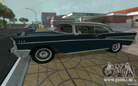 Chevrolet Bel Air 1957 für GTA San Andreas linke Ansicht