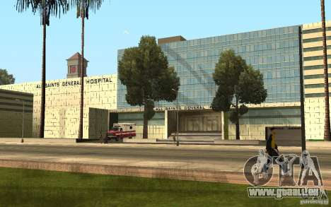 UGP Moscow New General Hospital pour GTA San Andreas