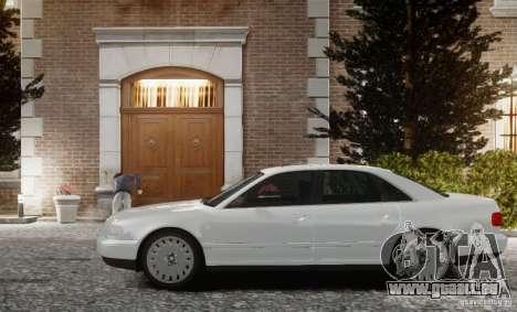 Audi A8 2000 für GTA 4 linke Ansicht