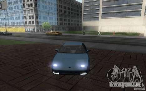 Nissan 200SX 1.8 Turbo 1990 pour GTA San Andreas sur la vue arrière gauche