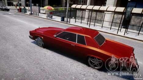 Buccaner Tuning für GTA 4 rechte Ansicht