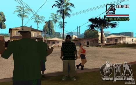Grove Street Skin Pack für GTA San Andreas dritten Screenshot