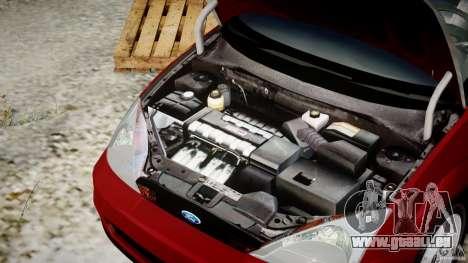 Ford Focus SVT pour GTA 4 vue de dessus