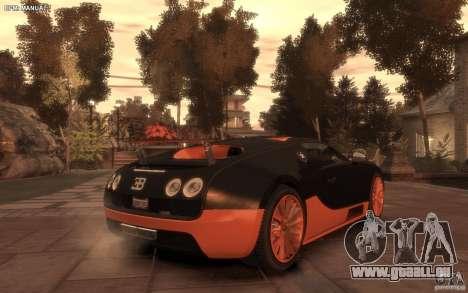 Bugatti Veyron Super Sport 2010 pour GTA 4 est une gauche