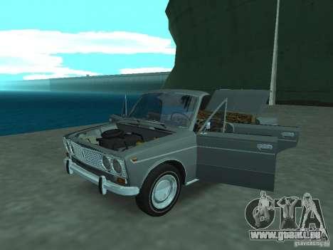 VAZ 2103 Cabrio pour GTA San Andreas vue arrière