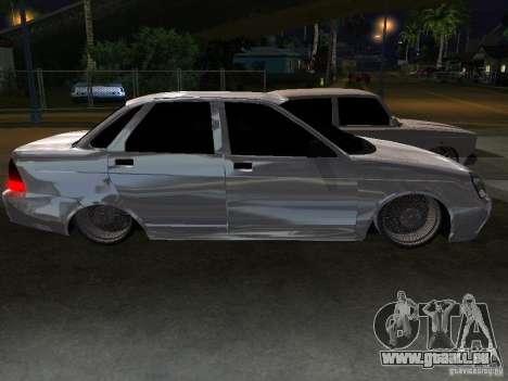 Lada Priora Dag Style für GTA San Andreas Unteransicht