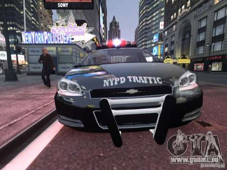 Chevrolet Impala 2006 NYPD Traffic für GTA 4 linke Ansicht