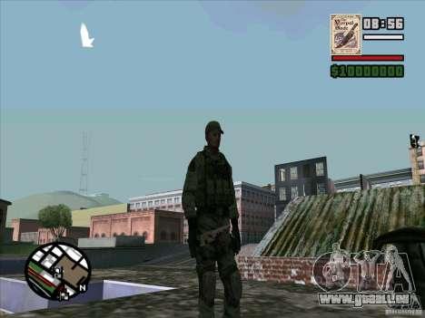 Dave de Resident Evil pour GTA San Andreas quatrième écran