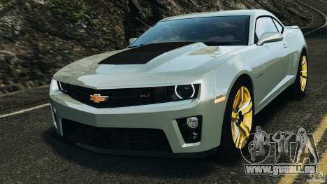 Chevrolet Camaro ZL1 2012 v1.2 pour GTA 4