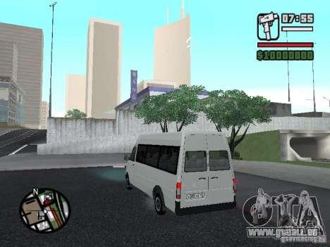 Volkswagen LT 35 Passažirsikj für GTA San Andreas rechten Ansicht