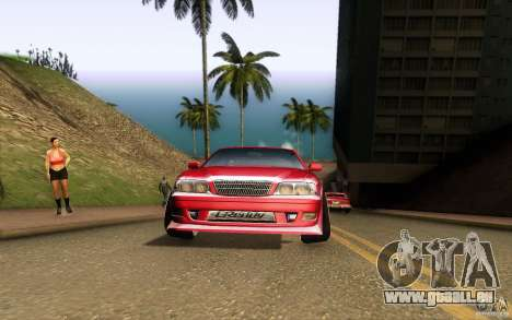 Toyota Chaser JZX100 pour GTA San Andreas vue intérieure