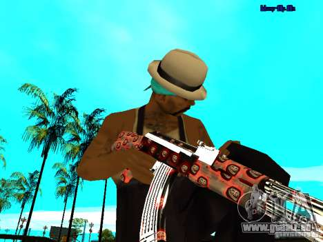 Trollface weapons pack für GTA San Andreas her Screenshot