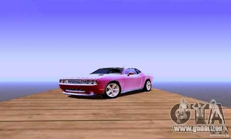 Dodge Challenger SRT8 2009 für GTA San Andreas