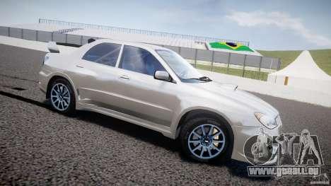 Subaru Impreza STI Wide Body pour GTA 4 est une gauche