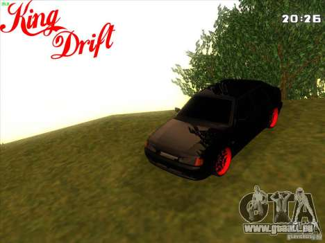 ВАЗ 2114 diable Style pour GTA San Andreas