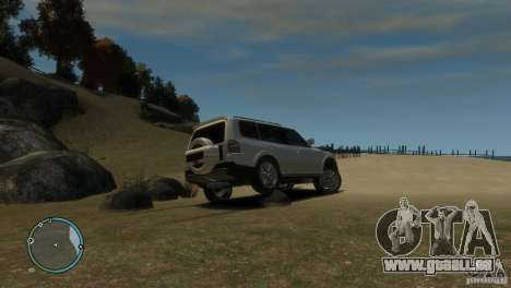 Mitsubishi Pajero Wagon pour GTA 4 est un côté