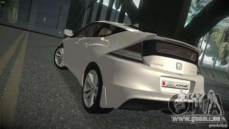 Honda CR-Z 2010 V1.0 für GTA San Andreas rechten Ansicht