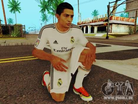 Cristiano Ronaldo-v1 für GTA San Andreas fünften Screenshot