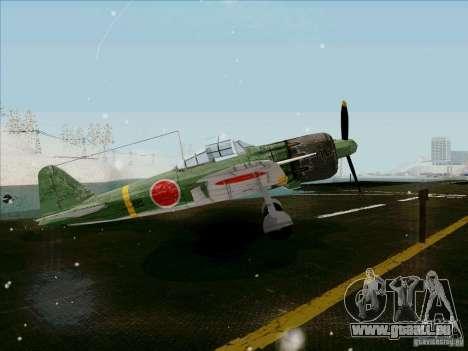 Avions japonais pour GTA San Andreas vue de droite