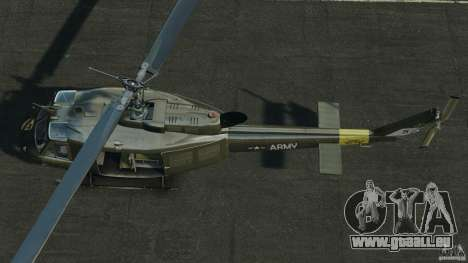 Bell UH-1 Iroquois für GTA 4 rechte Ansicht