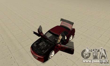 Nissan Skyline R32 Drift Edition pour GTA San Andreas vue arrière
