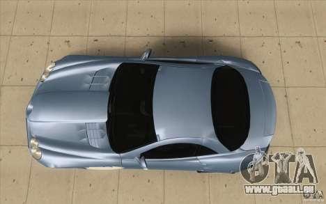 Mercedes-Benz SLR McLaren 2005 pour GTA San Andreas vue de droite