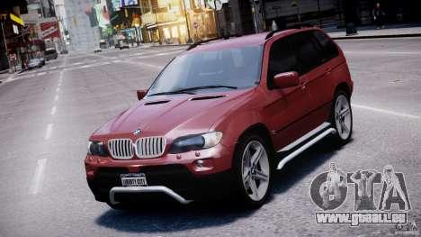 BMW X5 E53 v1.3 für GTA 4 obere Ansicht
