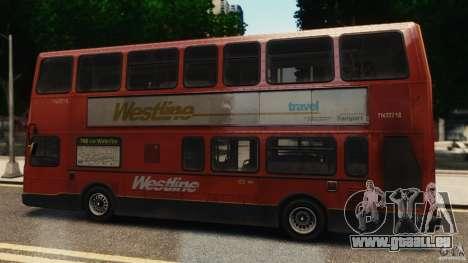 London City Bus pour GTA 4 est une gauche