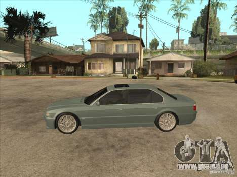 BMW E38 M7 für GTA San Andreas linke Ansicht