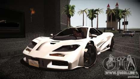 McLaren F1 LM pour GTA San Andreas