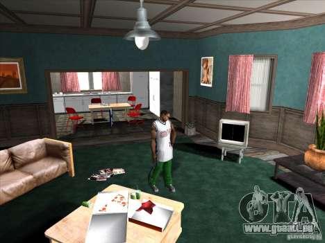 Vis/Dévisser le silencieux pour GTA San Andreas deuxième écran