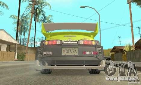 Toyota Supra Tunable 2 für GTA San Andreas
