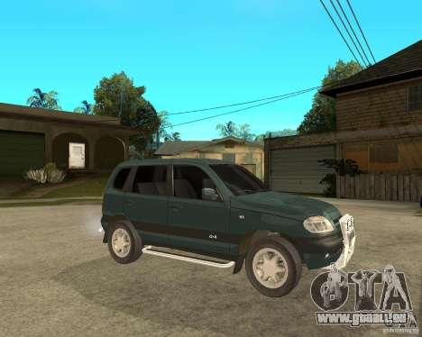 NIVA Chevrolet pour GTA San Andreas vue de droite