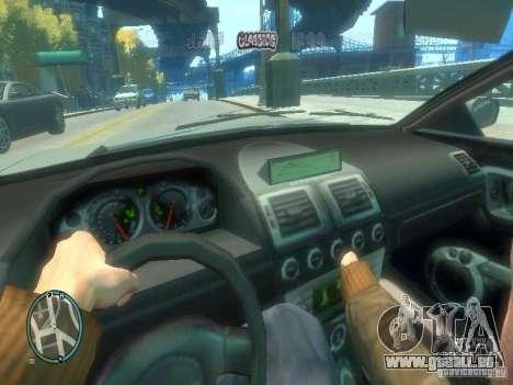 Type de voiture pour GTA 4 troisième écran