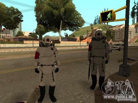 Cops from Half-life 2 für GTA San Andreas her Screenshot