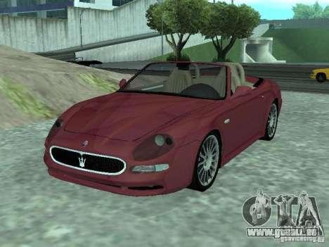 Spyder Cambriocorsa pour GTA San Andreas