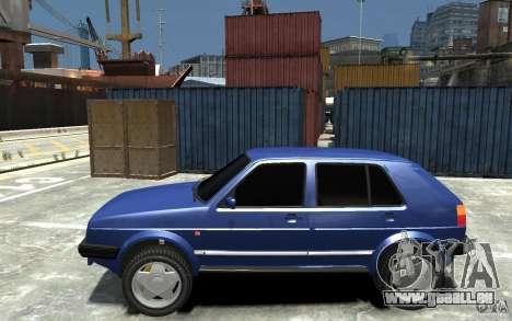 Volkswagen Golf II Country 1990 für GTA 4 linke Ansicht