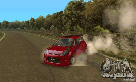 Ford Fiesta Rally für GTA San Andreas
