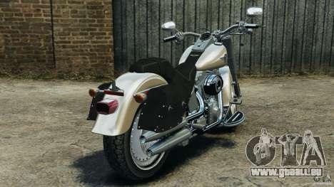 Harley Davidson Softail Fat Boy 2013 v1.0 pour GTA 4 Vue arrière de la gauche
