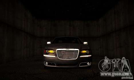 Chrysler 300c für GTA San Andreas Innenansicht
