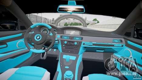BMW E92 pour GTA 4 Vue arrière