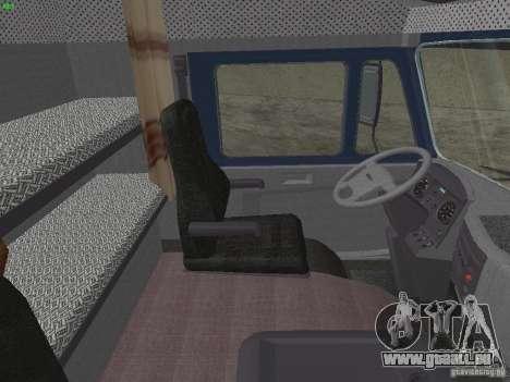 KAMAZ-5460-Sport für GTA San Andreas Rückansicht