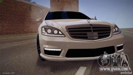 Mercedes-Benz S65 AMG für GTA San Andreas linke Ansicht