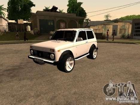 Armenian NIVA DORJAR 4 x 4 pour GTA San Andreas
