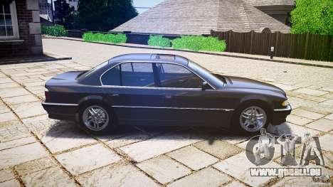 BMW 740i (E38) style 37 pour GTA 4 est une gauche