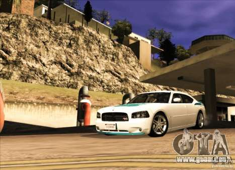 Dodge Charger R/T Daytona für GTA San Andreas linke Ansicht